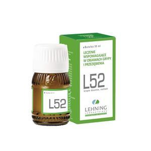 L52 Lek homeopatyczny ziołowy, Krople do picia marki Lehning - zdjęcie nr 1 - Bangla