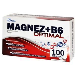 Magnez + B6 Optimal, suplement diety marki Polfarmex - zdjęcie nr 1 - Bangla