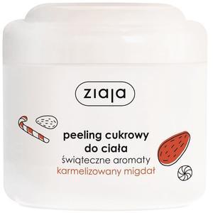Świąteczne aromaty, Peeling cukrowy Karmelizowany migdał marki Ziaja - zdjęcie nr 1 - Bangla