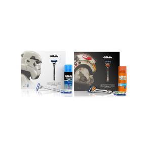 Gillette, Mach 3 Turbo, zestaw Star Wars marki Procter & Gamble - zdjęcie nr 1 - Bangla