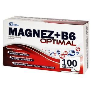 Havena, Magnez + B6 Optimal (suplement diety) marki Polfarmex S.A. - zdjęcie nr 1 - Bangla