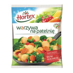Warzywa na patelnię, danie mrożone marki Hortex - zdjęcie nr 1 - Bangla