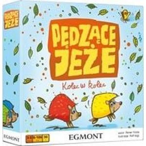 Pędzące jeże, gra dla dzieci marki Egmont - zdjęcie nr 1 - Bangla