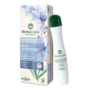 Herbal Care, Przeciwzmarszczkowy krem roll-on pod oczy Irys Syberyjski marki Farmona - zdjęcie nr 1 - Bangla