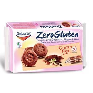Zero Gluten, Bezglutenowe kakaowe markizy z nadzieniem waniliowym marki Galbusera - zdjęcie nr 1 - Bangla