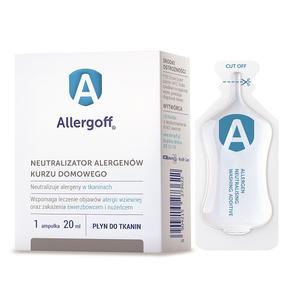 Allergoff, Płyn do tkanin - neutralizator alergenów kurzu domowego marki ICB Pharma - zdjęcie nr 1 - Bangla