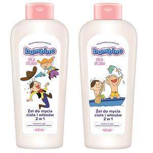 Bambino Dzieciaki, Żel do mycia ciała i włosów 2w1 Bolek i Lolek marki Bambino - zdjęcie nr 1 - Bangla