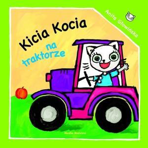 Anita Głowińska, Kicia Kocia na traktorye marki Media Rodzina - zdjęcie nr 1 - Bangla