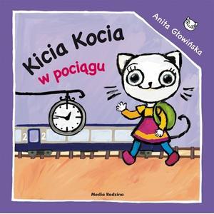 Aneta Głowińska, Kicia Kocia w pociągu marki Media Rodzina - zdjęcie nr 1 - Bangla