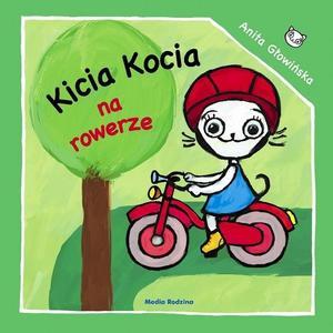 Anita Głowińska, Kicia Kocia na rowerze marki Media Rodzina - zdjęcie nr 1 - Bangla
