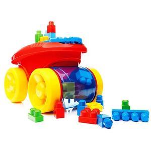 Mega Bloks First Builders, Pojazd Zbieracz Klocków marki Mattel - zdjęcie nr 1 - Bangla