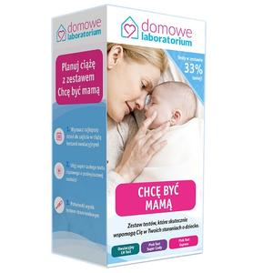 Chcę być mamą, zestaw testów diagnostycznych marki Domowe Laboratorium - zdjęcie nr 1 - Bangla