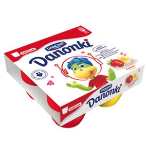 Danonki Mega i Mini (90 g i 50 g), Serek dla dziecka marki Danone - zdjęcie nr 1 - Bangla