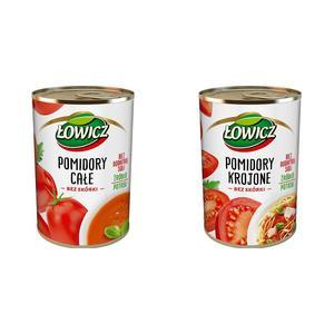 Łowicz, Pomidory w puszce całe lub krojone marki Łowicz - zdjęcie nr 1 - Bangla