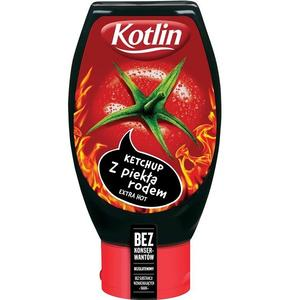 Kotlin, Ketchup z Piekła rodem Extra Hot/ bez konserwantów marki Kotlin - zdjęcie nr 1 - Bangla