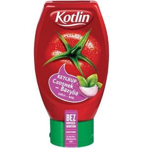 Kotlin, Ketchup Czosnek-bazylia (Garlic Basil)/ bez konserwantów marki Kotlin - zdjęcie nr 1 - Bangla