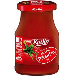 Kotlin, Ketchup Pikantny HOT/ bez konserwantów marki Kotlin - zdjęcie nr 1 - Bangla