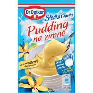 Słodka Chwila, Pudding na zimno - różne smaki marki Dr Oetker - zdjęcie nr 1 - Bangla