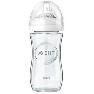 Natural, Butelka szklana 240 ml  marki Avent - zdjęcie nr 1 - Bangla