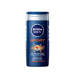 Nivea Men Sport, Żel pod prysznic marki Nivea - zdjęcie nr 1 - Bangla