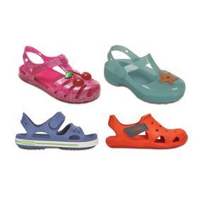 Crocs, sandałki dziecięce, różne modele marki Crocs - zdjęcie nr 1 - Bangla