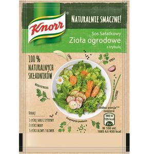 Naturalnie Smaczne!, Sos sałatkowy Zioła ogrodowe z trybulą marki Knorr - zdjęcie nr 1 - Bangla