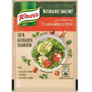 Naturalnie Smaczne!, Sos sałatkowy Truskawka z chili marki Knorr - zdjęcie nr 1 - Bangla