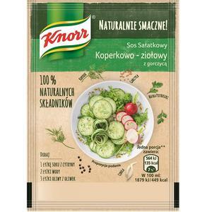 Naturalnie smacznie!, Sos sałatkowy Koperkowo-ziołowy z gorczycą marki Knorr - zdjęcie nr 1 - Bangla