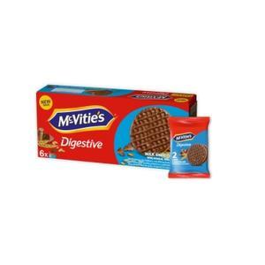 McVitie's Digestive Milk Chocolate, ciastka z mleczną czekoladą marki McVitie's - zdjęcie nr 1 - Bangla