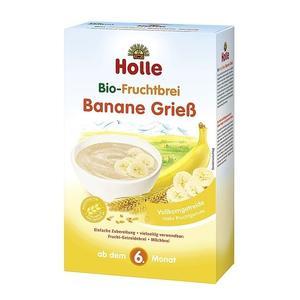 Holle, Ekologiczna pszenna kaszka z bananami (bezmleczna) marki Holle - zdjęcie nr 1 - Bangla