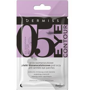 Dermiss 05 Eye Contour, Przeciwzmarszczkowe płatki bionanocelulozowe pod oczy marki Farmona - zdjęcie nr 1 - Bangla