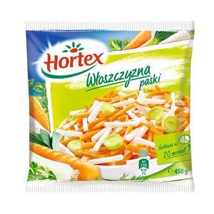 Włoszczyzna w paski, mrożona mieszanka warzyw marki Hortex - zdjęcie nr 1 - Bangla