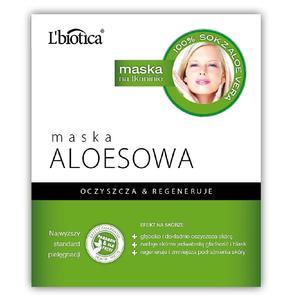 Maska Aloesowa, maska na tkaninie marki L'biotica - zdjęcie nr 1 - Bangla