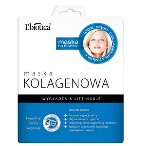 Maska Kolagenowa, maska na tkaninie marki L'biotica - zdjęcie nr 1 - Bangla