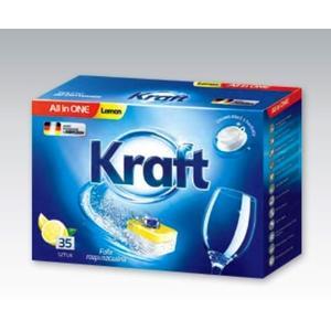 All in One - Lemon, Tabletki do zmywarki marki KRAFT - zdjęcie nr 1 - Bangla
