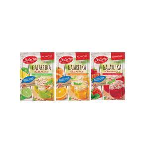 Delecta, galaretki deserowe bez żelatyny, różne smaki  marki Bakalland - zdjęcie nr 1 - Bangla