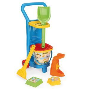 Wózek plażowicza, Komplet zabawek do piasku marki Wader - zdjęcie nr 1 - Bangla