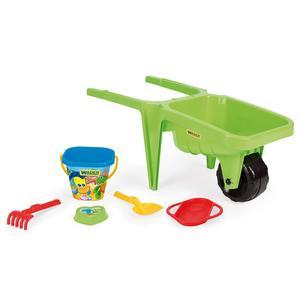 Taczka piaskowa Gigant z kompletem do piasku, zabawki do piasku marki Wader - zdjęcie nr 1 - Bangla