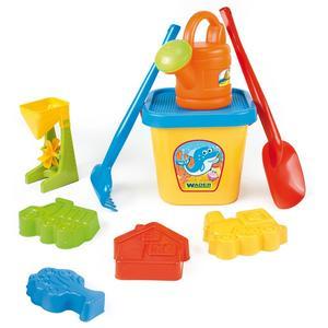 Wielki komplet do piasku, zabawki do piasku marki Wader - zdjęcie nr 1 - Bangla