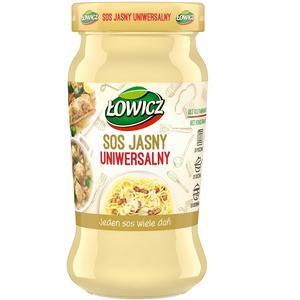 Łowicz, Sos jasny uniwersalny marki Łowicz - zdjęcie nr 1 - Bangla