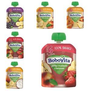 BoboVita 100% smaku, Mus owocowy - różne smaki marki Nutricia - zdjęcie nr 1 - Bangla