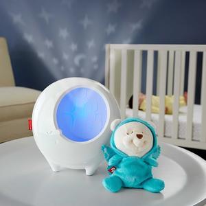 Fisher-Price, Gwiezdny projektor-uspokajacz 2w1 marki Mattel - zdjęcie nr 1 - Bangla