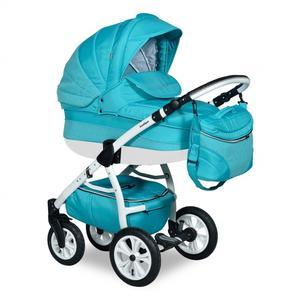 Picobaby, Wózek wielofunkcyjny Indigo Carmen Deep Sky Blue 2w1  marki Picobaby - zdjęcie nr 1 - Bangla