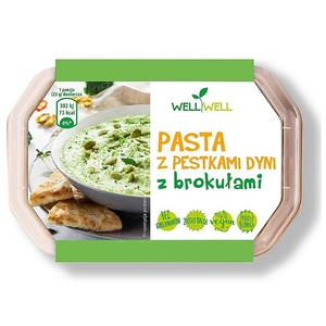 Well Well, Pasta z pestkami dyni z brokułami marki Well Well Foods - zdjęcie nr 1 - Bangla