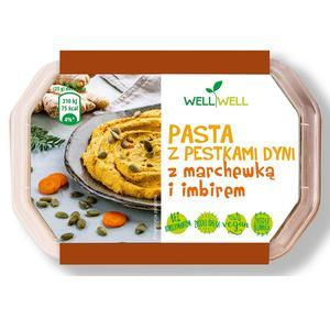 Well Well, Pasta z pestkami dyni z marchewką i imbirem marki Well Well Foods - zdjęcie nr 1 - Bangla