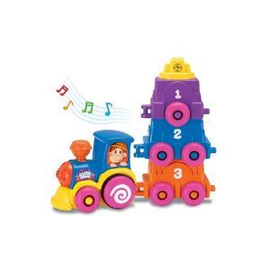 Smiki, Muzyczny pociąg - zabawka edukacyjna marki Smyk - zdjęcie nr 1 - Bangla
