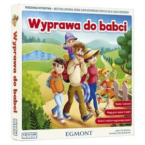Wyprawa do babci, Gra planszowa dla dzieci marki Wydawnictwo Egmont - zdjęcie nr 1 - Bangla