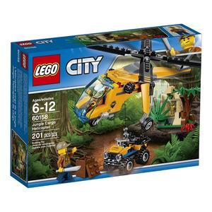 Lego City, Dżungla Helikopter transportowy (60158) marki Lego - zdjęcie nr 1 - Bangla