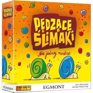 Pędzące ślimaki, gra planszowa dla dzieci marki Wydawnictwo Egmont - zdjęcie nr 1 - Bangla