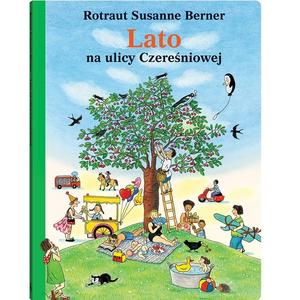 Rotraut Susanne Berner, Lato na ulicy Czereśniowej marki Wydawnictwo Dwie Siostry - zdjęcie nr 1 - Bangla